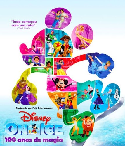 DISNEY ON ICE - 100 ANOS DE MAGIA (ESGOTADO)